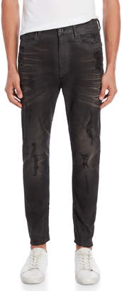 G Star Raw Slander Black Super Stretch Slim Jeans