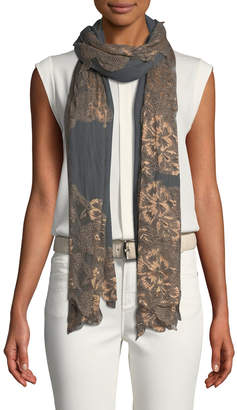 Bindya Accessories Lace Outlined Scarf