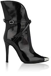 Philosophy di Lorenzo Serafini Women's Metal-Toe Leather Ankle Boots - Black