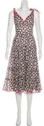 Trina Turk Printed Midi Dress