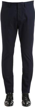 DSQUARED2 16cm Hockney Cotton Twill Chino Pants