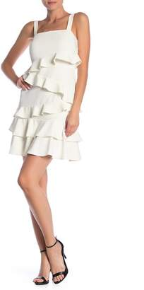 Alexia Admor Sleeveless Ruffle Dress