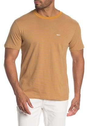 Obey Apex Striped Crew T-Shirt