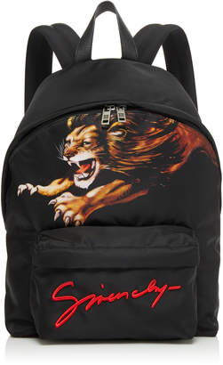 Givenchy Printed Logo Shell Backpack