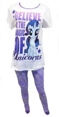 Pony My Little Unicorns Ladies 2-Piece Pajama Set US 6-8