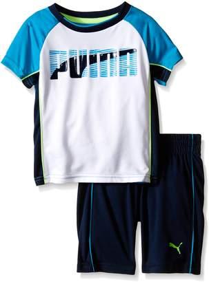 Puma Baby Boys' Short Sleeve Tee and Short Set