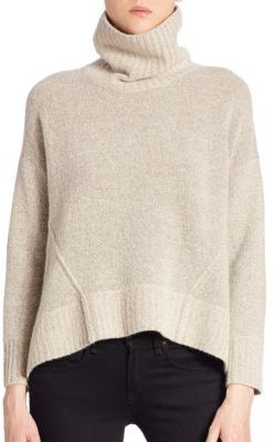Brochu Walker Carrie Turtleneck Pullover $368 thestylecure.com