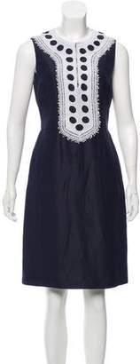 Tory Burch Silk & Linen Dress