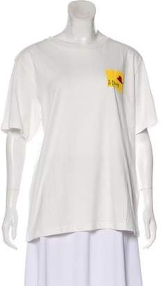 ALEXACHUNG x AG Graphic Short Sleeve T-Shirt w/ Tags