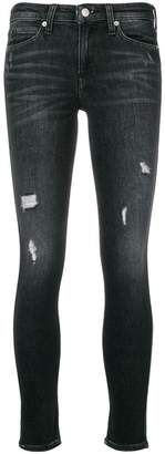 CK Calvin Klein classic ripped skinny jeans