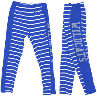 NCAA Authentic Apparel Kentucky Wildcats Striped Leggings, Toddler Girls (2T-4T)