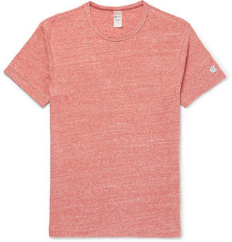 Todd Snyder + Champion Champion - Mélange Slub Cotton-Blend Jersey T-Shirt