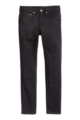 H&M Skinny Jeans - Black denim - Men