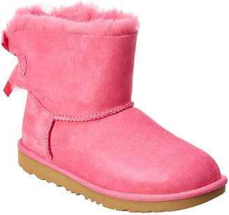 UGG Mini Bailey Bow Ii Water-Resistant Suede Boot