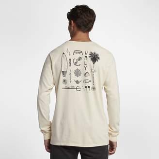 Hurley Heavy Shred Mens Long-Sleeve T-Shirt