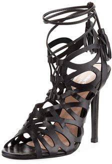 Charles David Priscilla Strappy Ankle-Tie Sandal