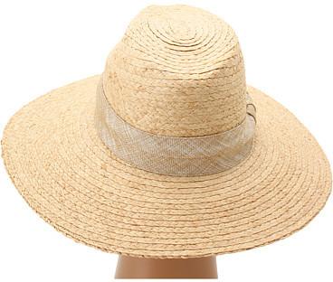 Hat Attack Raffia Braid Continental