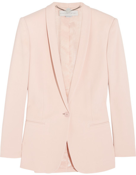 Stella McCartney Mattea stretch-cady blazer
