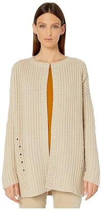 Eileen Fisher Lofty Recycled Cashmere Kimono Cardigan