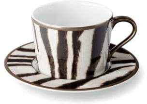Ralph Lauren Kendall Teacup and Saucer Set