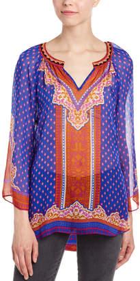 Hale Bob Sheer Silk Tunic