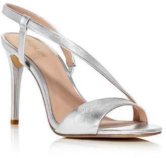 56a5757af9517 Silver Wrapped Heel Women's Sandals - ShopStyle