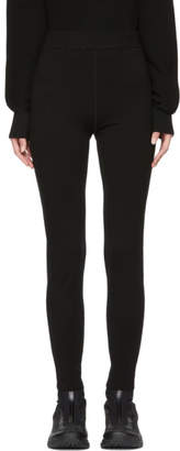 Alexander Wang Black Bodycon Basics Leggings