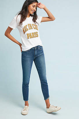 Anthropologie Paige Hoxton High-Rise Skinny Petite Jeans