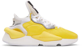 Y-3 Y 3 Yellow Kaiwa Sneakers