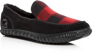 Sorel Men's Dude Suede Moccasin Slippers