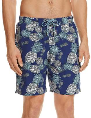 Sovereign Code Cannonball Pineapple Print Swim Trunks