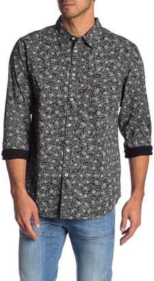 Obey Rosie Print Long Sleeve Shirt