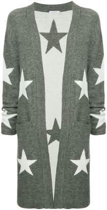 GUILD PRIME star print long cardigan