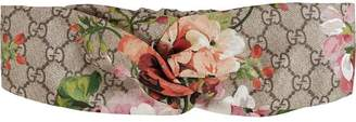 Gucci Blooms print silk headband