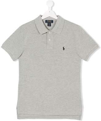 Ralph Lauren TEEN embroidered logo polo shirt
