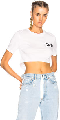 Off-White Landscaping Crop Tiny Tee