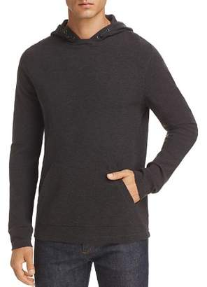 Michael Kors Milano Waffle-Knit Hooded Sweatshirt