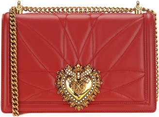 Dolce & Gabbana Large Devotion Crossbody Bag