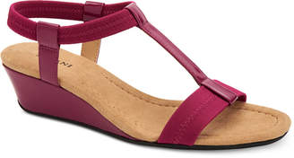Alfani Women's Voyage Wedge Sandals, Created for Macy's