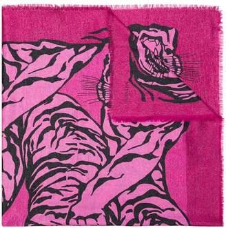 Valentino tiger print scarf