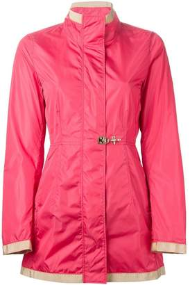Fay clasp fastening padded jacket