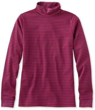 L.L. Bean L.L.Bean Interlock Turtleneck, Stripe