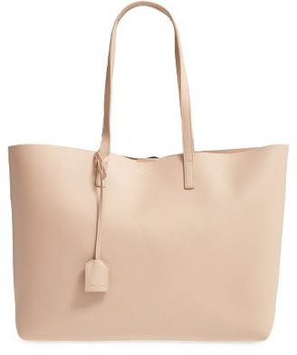 Saint Laurent 'Shopping' Leather Tote - Blue $995 thestylecure.com