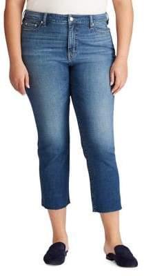 Lauren Ralph Lauren Plus Regal Straight Ankle Jeans