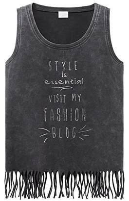 Schiesser Girl's T-Shirt Rundhals (Gelb 600)