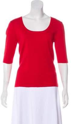 Michael Kors Cashmere Scoop Neck Sweater