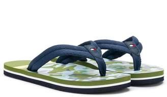 Tommy Hilfiger Junior slip-on flip flops