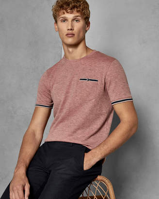 Ted Baker KHAOS Soft touch cotton blend T-shirt