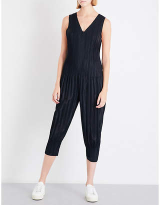 Pleats Please Issey Miyake Fluffy Basic pleated top