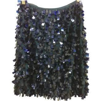 Nicole Farhi Blue Cotton Skirt for Women